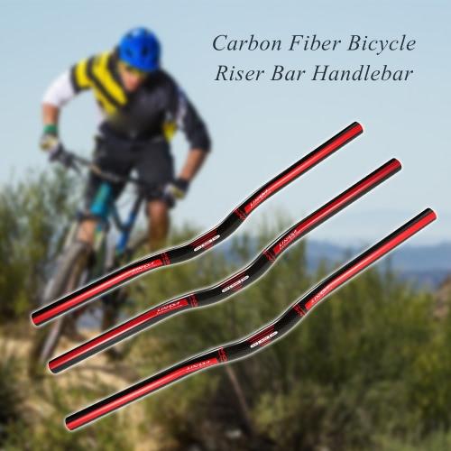 Lixada Bicycle Handlebar Ultralight Carbon Fiber Road Bike BMX Bike Folding Bicycle Riser Bar Handlebar 580mm/600mm/620mmSports &amp; Outdoor<br>Lixada Bicycle Handlebar Ultralight Carbon Fiber Road Bike BMX Bike Folding Bicycle Riser Bar Handlebar 580mm/600mm/620mm<br>