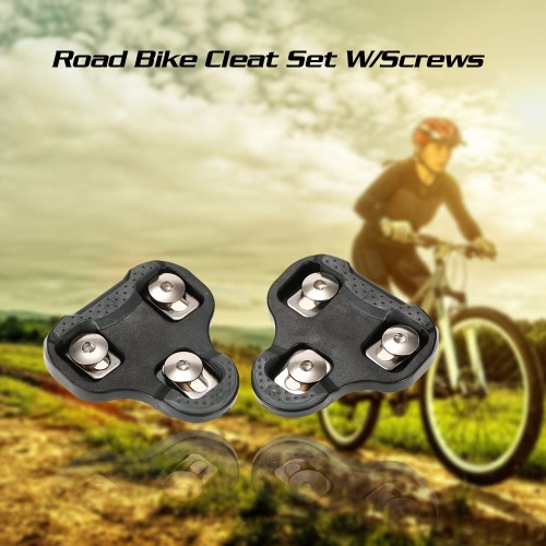 Road Bike Cleat Road Bike Cleat Set W/ Screws 6 Degree Float Bicycle Cleats for LOOK KEO Clip-in PedalsSports &amp; Outdoor<br>Road Bike Cleat Road Bike Cleat Set W/ Screws 6 Degree Float Bicycle Cleats for LOOK KEO Clip-in Pedals<br>