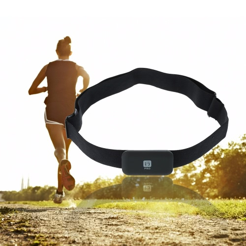 For BT 4.0LE For ANT+ Wireless Smart Sensor Transmitter Heart Rate Monitor Tracker Chest Strap for Smart Phones Bicycle ComputersSports &amp; Outdoor<br>For BT 4.0LE For ANT+ Wireless Smart Sensor Transmitter Heart Rate Monitor Tracker Chest Strap for Smart Phones Bicycle Computers<br>