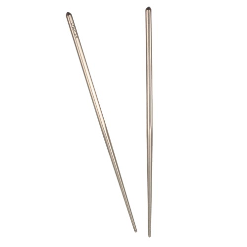 Lixada 1 Pair of Titanium Lightweight Ultra-strong Square Reusable Chopsticks with Carrying Pouch Camping Utensils Outdoor 195mm/2Sports &amp; Outdoor<br>Lixada 1 Pair of Titanium Lightweight Ultra-strong Square Reusable Chopsticks with Carrying Pouch Camping Utensils Outdoor 195mm/2<br>
