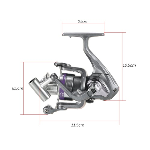 12BB Spinning Fishing Reel Lightweight Aluminum Alloy Carp Fishing Reel Tackle with Left Right Interchangeable Collapsible HandleSports &amp; Outdoor<br>12BB Spinning Fishing Reel Lightweight Aluminum Alloy Carp Fishing Reel Tackle with Left Right Interchangeable Collapsible Handle<br>