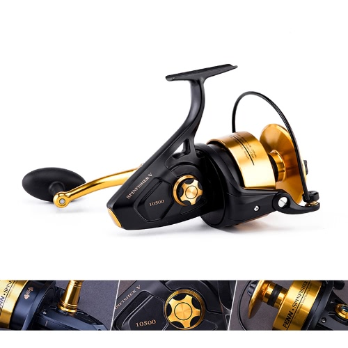 PENN Spinfisher V Spinning Fishing Reel 5+1BB Ball Bearings 6.2:1 Left/Right Interchangeable Collapsible Handle Fishing WheelSports &amp; Outdoor<br>PENN Spinfisher V Spinning Fishing Reel 5+1BB Ball Bearings 6.2:1 Left/Right Interchangeable Collapsible Handle Fishing Wheel<br>