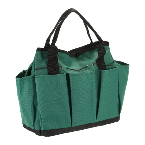 Garden Tool Bag Oxford Fabric Garden Square Box Type Bag for Gardening Tool KitSports &amp; Outdoor<br>Garden Tool Bag Oxford Fabric Garden Square Box Type Bag for Gardening Tool Kit<br>
