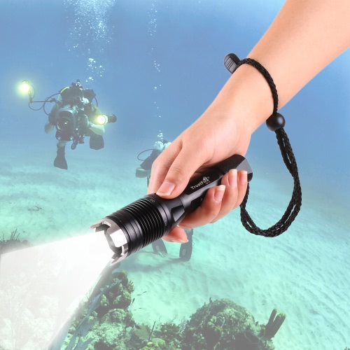 TrustFire TR-J1 900 Lumen Diving Flashlight Underwater Scuba Diving Light LED Submarine TorchSports &amp; Outdoor<br>TrustFire TR-J1 900 Lumen Diving Flashlight Underwater Scuba Diving Light LED Submarine Torch<br>