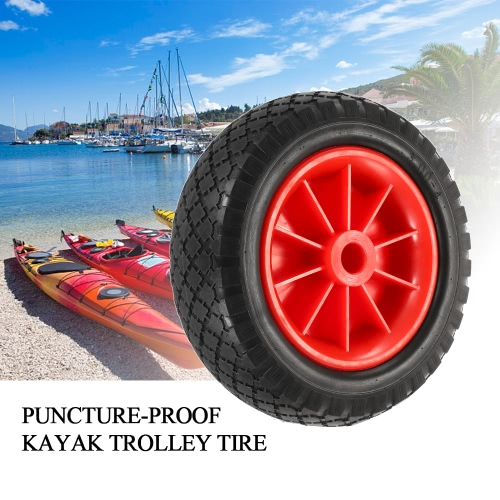 1pc 8 / 10 Puncture-proof Tire Wheel for Kayak Canoe Trolley Cart Replacement TireSports &amp; Outdoor<br>1pc 8 / 10 Puncture-proof Tire Wheel for Kayak Canoe Trolley Cart Replacement Tire<br>