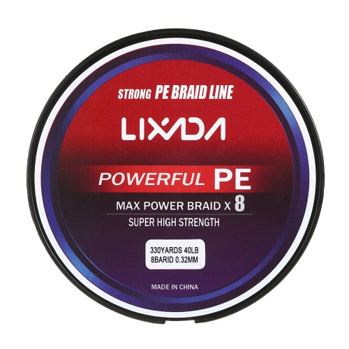 Lixada 300M / 330Yds 8 Strands PE Braided Fishing Line Super Strong Multifilament Fishing Line Carp Fish Line Wires Rope Cord 20-9Sports &amp; Outdoor<br>Lixada 300M / 330Yds 8 Strands PE Braided Fishing Line Super Strong Multifilament Fishing Line Carp Fish Line Wires Rope Cord 20-9<br>