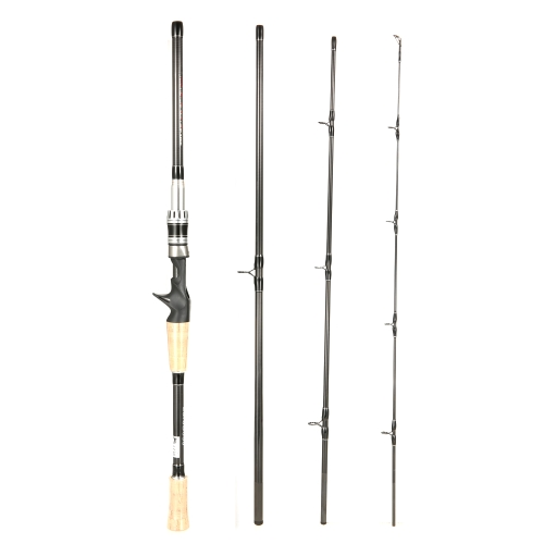 4 Sections Spinning Casting Fishing Rod High 99% Carbon Rods Fishing PoleSports &amp; Outdoor<br>4 Sections Spinning Casting Fishing Rod High 99% Carbon Rods Fishing Pole<br>