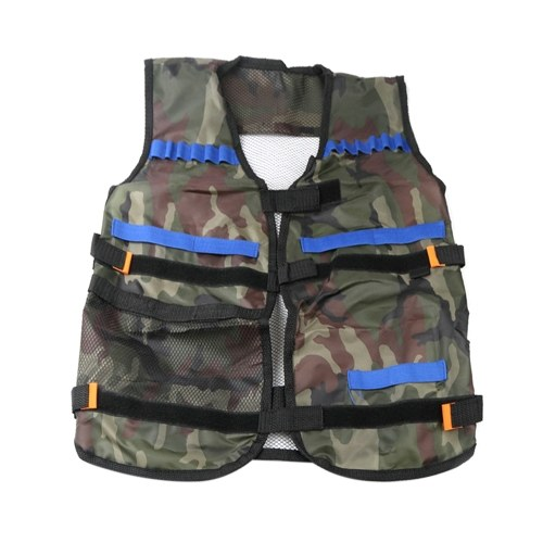 Kids Outdoor Adjustable Training Vest with Multi Storage Pockets