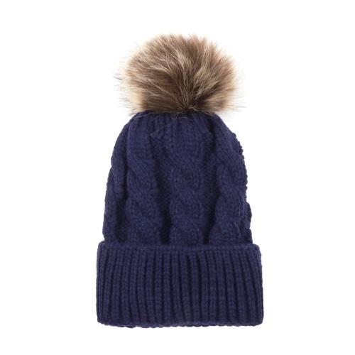 Winter Warm Women and Kids Knitted Crochet Wool Hat
