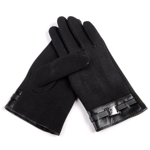 Зимние теплые мягкие перчатки с перчатками