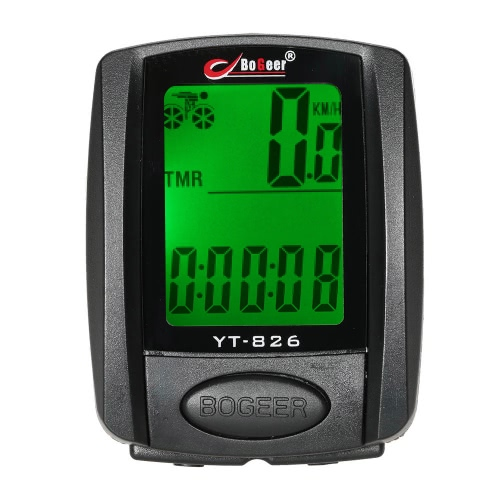 Bike Bicycle Cycling Computer Odometer Speedometer Stopwatch Thermometer Backlight Rainproof MultifunctionSports &amp; Outdoor<br>Bike Bicycle Cycling Computer Odometer Speedometer Stopwatch Thermometer Backlight Rainproof Multifunction<br>