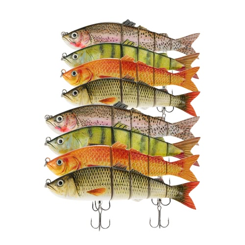 Lixada 22cm / 25cm Lifelike Multi-jointed 5-segement Swimbait Hard Fishing Lure Bass BaitSports &amp; Outdoor<br>Lixada 22cm / 25cm Lifelike Multi-jointed 5-segement Swimbait Hard Fishing Lure Bass Bait<br>