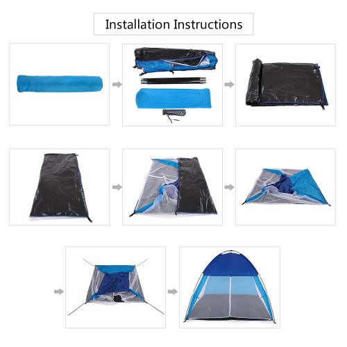 2 Person Camping Tent Portable Tent for Hiking Backpacking Beach Outdoor UseSports &amp; Outdoor<br>2 Person Camping Tent Portable Tent for Hiking Backpacking Beach Outdoor Use<br>