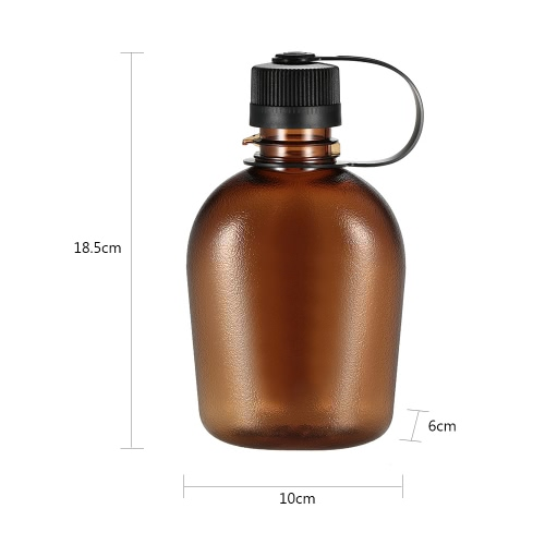 500ml/750ml Tactical Water Bottle with Handle Drinking Container Military Lightweight Portable for Outdoor LeisureSports &amp; Outdoor<br>500ml/750ml Tactical Water Bottle with Handle Drinking Container Military Lightweight Portable for Outdoor Leisure<br>