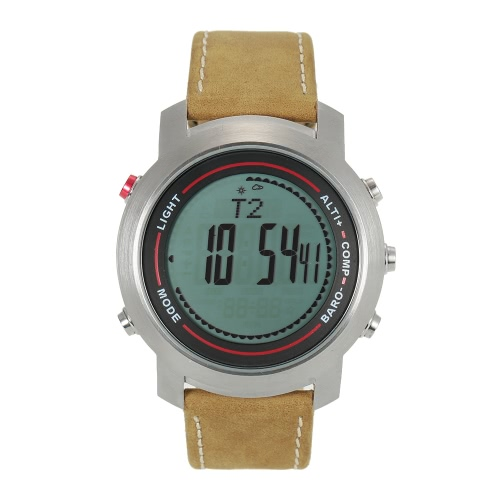 SPOVAN 5ATM Multifunctional Outdoor Sports Watch Climbing Hiking Wristwatch Altimeter Barometer Thermometer Digital CompassSports &amp; Outdoor<br>SPOVAN 5ATM Multifunctional Outdoor Sports Watch Climbing Hiking Wristwatch Altimeter Barometer Thermometer Digital Compass<br>