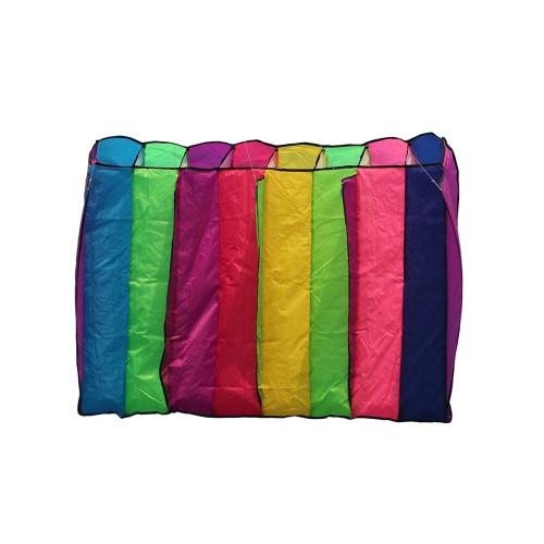 75*135cm Multi-color Single Line Parafoil Parachute Kite Frameless Soft Kite Giant Rainbow Kite Lifter Kids AdultsSports &amp; Outdoor<br>75*135cm Multi-color Single Line Parafoil Parachute Kite Frameless Soft Kite Giant Rainbow Kite Lifter Kids Adults<br>