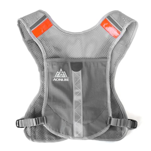 AONIJIE Premium Reflective Running Vest Give Sport Water Bottle for Running Cycling Clothes for Women Men Safety Gear with PocketSports &amp; Outdoor<br>AONIJIE Premium Reflective Running Vest Give Sport Water Bottle for Running Cycling Clothes for Women Men Safety Gear with Pocket<br>