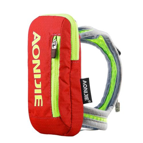 Borsa da bagno all'aperto di AONIJIE Nylon Marathon Pack idratante Pacchetto bollitore Outdoor Sports Bag Escursioni in bicicletta Guida in mano per una bottiglia da acqua da 250ml