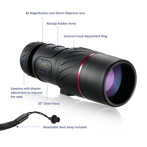 Visionking 8x42 MonocularSports &amp; Outdoor<br>Visionking 8x42 Monocular<br>