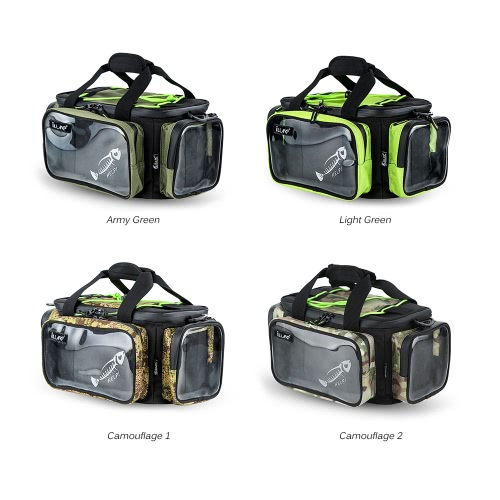 Multifunctional Fishing Tackle Bag Outdoor Sports Fishing Shoulder Bag Lures Tackle Box Gear Utility Storage BagSports &amp; Outdoor<br>Multifunctional Fishing Tackle Bag Outdoor Sports Fishing Shoulder Bag Lures Tackle Box Gear Utility Storage Bag<br>