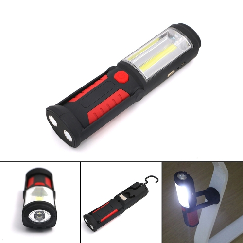 Portable COB LED Work Light Magnet Garage Flashlight Stand Hanging Flash Light Folding Torch Lamp with Hook  for Car Repair SportSports &amp; Outdoor<br>Portable COB LED Work Light Magnet Garage Flashlight Stand Hanging Flash Light Folding Torch Lamp with Hook  for Car Repair Sport<br>