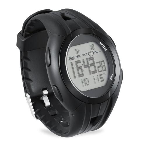 Monitor de ritmo cardíaco Ciclismo Reloj de computadora