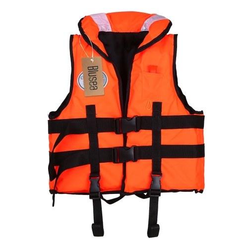 Blusea Giubbotto di salvataggio per bambini Canotta Kayak Canottaggio Nuoto Giubbotto di sicurezza Gilet 77 lbs Capacità per i bambini