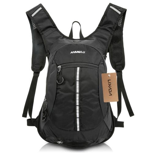 Lixada Water-resistant Shoulder Outdoor Cycling Bike Riding Backpack Mountain Bicycle Travel Hiking Camping Running Water Bag