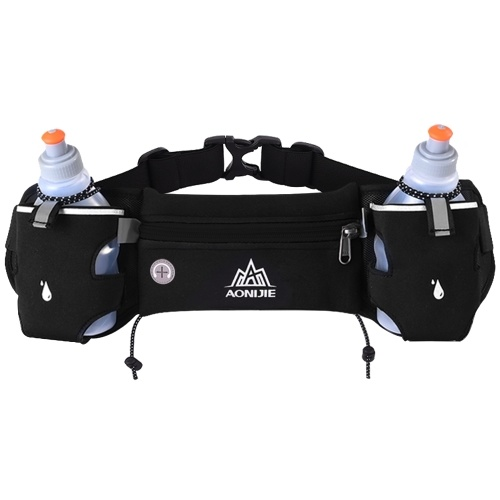 En cours d'exécution Marathon Triathlon Race Sports taille Pack unisexe ceinture sac avec deux bouteilles supplémentaires