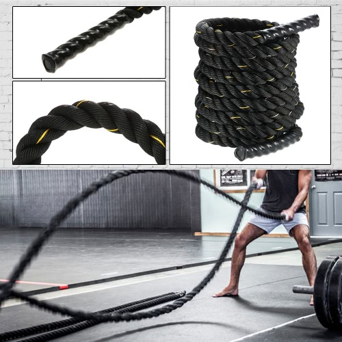 38mm Diameter 12m length TOMSHOO Battle Training Undulation RopeSports &amp; Outdoor<br>38mm Diameter 12m length TOMSHOO Battle Training Undulation Rope<br>