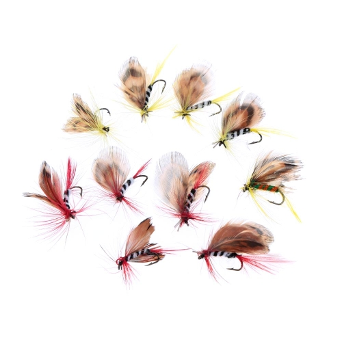 Lixada 10pcs Fly Fishing Hooks Carbon Steel Butterfly Style Fly Fishing Lure Set Artificial Bait with BoxSports &amp; Outdoor<br>Lixada 10pcs Fly Fishing Hooks Carbon Steel Butterfly Style Fly Fishing Lure Set Artificial Bait with Box<br>