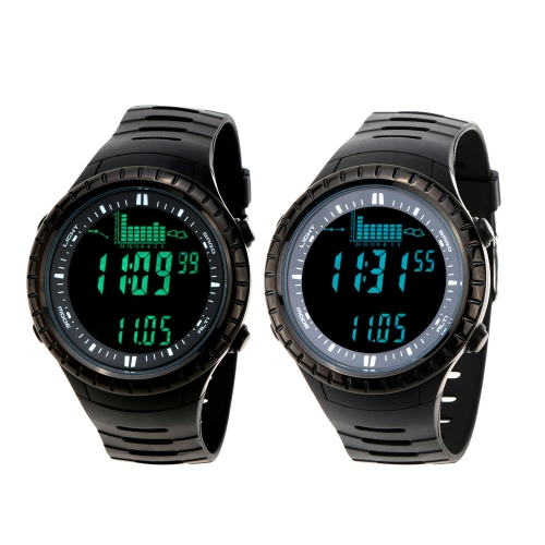 Spovan 5ATM Waterproof Outdoor Fishing Watch Altimeter Barometer Thermometer Multifunctional Digital WristwatchSports &amp; Outdoor<br>Spovan 5ATM Waterproof Outdoor Fishing Watch Altimeter Barometer Thermometer Multifunctional Digital Wristwatch<br>