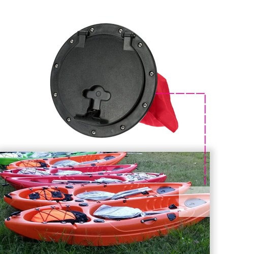 25cm Outer Diameter Deck Plate with Storage Bag Cover Kit for Boat KayakSports &amp; Outdoor<br>25cm Outer Diameter Deck Plate with Storage Bag Cover Kit for Boat Kayak<br>
