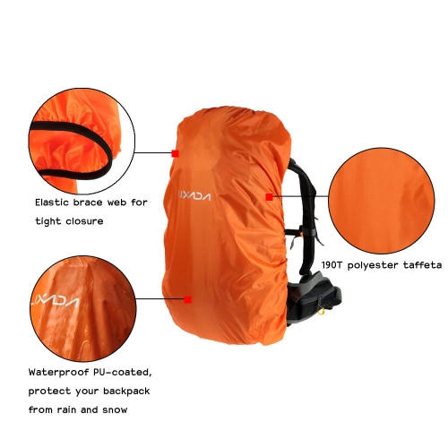 Lixada 40L-55L Backpack Rain Cover for Outdoor Hiking Camping TravelingSports &amp; Outdoor<br>Lixada 40L-55L Backpack Rain Cover for Outdoor Hiking Camping Traveling<br>