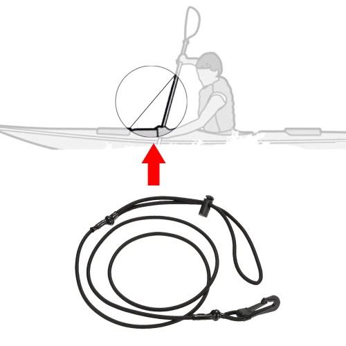1pc 4mm Thick Elastic Kayak Canoe Safety Rod Leash Fishing Rod Lanyard Paddle Leash Kayak AccessorySports &amp; Outdoor<br>1pc 4mm Thick Elastic Kayak Canoe Safety Rod Leash Fishing Rod Lanyard Paddle Leash Kayak Accessory<br>