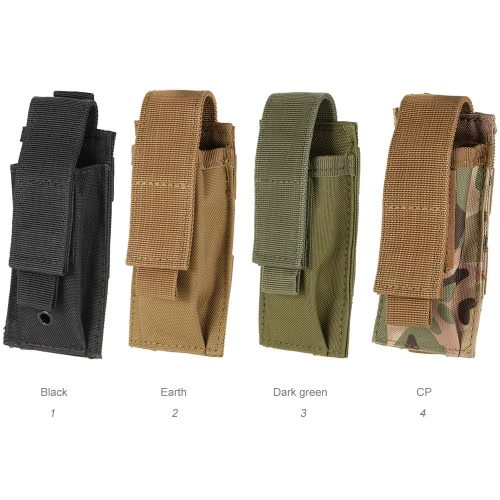 Tactical Single Magazine Pouch Pistol Rifle Outdoor Gear Accessary Pouch Oxford FabricSports &amp; Outdoor<br>Tactical Single Magazine Pouch Pistol Rifle Outdoor Gear Accessary Pouch Oxford Fabric<br>