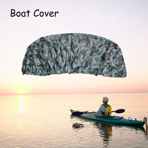 11-22 Feet Speedboat Boat Cover V-Hull Boat Cover Polyester Taffeta UV Water Resistant with Storage BagSports &amp; Outdoor<br>11-22 Feet Speedboat Boat Cover V-Hull Boat Cover Polyester Taffeta UV Water Resistant with Storage Bag<br>