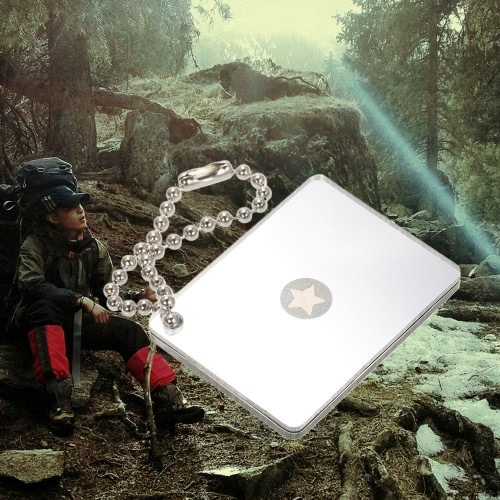 Outdoor Micro Star Singnal Mirror Lightweight Survival Emergency Rescue Signaling DeviceSports &amp; Outdoor<br>Outdoor Micro Star Singnal Mirror Lightweight Survival Emergency Rescue Signaling Device<br>