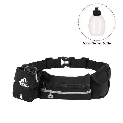 Free Knight Lightweight Men Women Waist Pack Outdoor Sports Cycling Fanny Pack Travel Marathon Running Belt Water Bottle Carrier BSports &amp; Outdoor<br>Free Knight Lightweight Men Women Waist Pack Outdoor Sports Cycling Fanny Pack Travel Marathon Running Belt Water Bottle Carrier B<br>