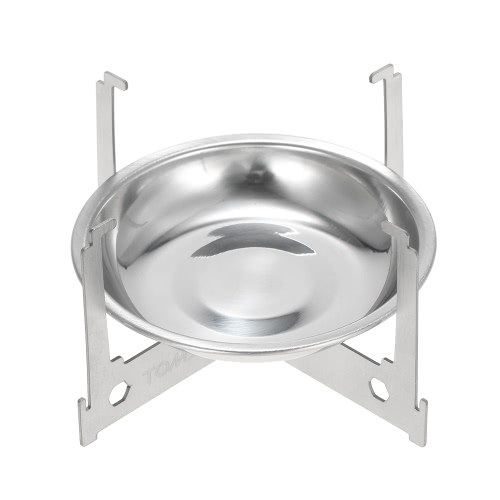 TOMSHOO Mini Alcohol Stove Tray Spirit Burner Stove Portable Mini Ultralight Outdoor Camping Stove Furnace with Cross Stand RackSports &amp; Outdoor<br>TOMSHOO Mini Alcohol Stove Tray Spirit Burner Stove Portable Mini Ultralight Outdoor Camping Stove Furnace with Cross Stand Rack<br>