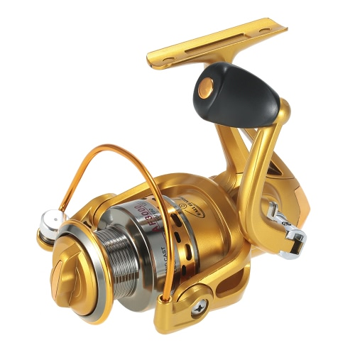 6BB Ball Bearings Spinning Fishing Reel 5.5:1 Fishing Reel Metal Spool Fishing Reels with Left/Right Interchangeable Collapsible HSports &amp; Outdoor<br>6BB Ball Bearings Spinning Fishing Reel 5.5:1 Fishing Reel Metal Spool Fishing Reels with Left/Right Interchangeable Collapsible H<br>