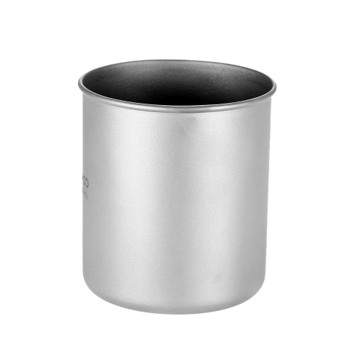 TOMSHOO 300ml Titanium Cup Outdoor Portable Camping Picnic Water Cup Mug with Foldable HandleSports &amp; Outdoor<br>TOMSHOO 300ml Titanium Cup Outdoor Portable Camping Picnic Water Cup Mug with Foldable Handle<br>