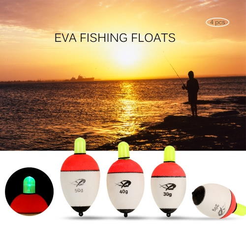 4PCS 20g 30g 40g 50g EVA Fishing Drift Floats Assorted Sizes Fishing Buoy LED Light Fishing TackleSports &amp; Outdoor<br>4PCS 20g 30g 40g 50g EVA Fishing Drift Floats Assorted Sizes Fishing Buoy LED Light Fishing Tackle<br>