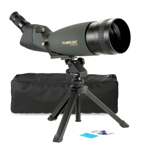 Visionking 30-90x100 Angled Spotting Scope BaK4 Waterproof Fogproof Height Adjustable Portable Travel Scope Monocular Telescope wiSports &amp; Outdoor<br>Visionking 30-90x100 Angled Spotting Scope BaK4 Waterproof Fogproof Height Adjustable Portable Travel Scope Monocular Telescope wi<br>