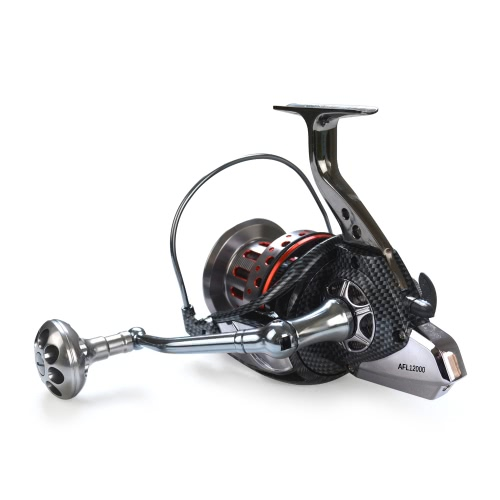10+1BB Ball Bearings 4.7:1 Lightweight Spinning Fishing Reel Tackle Aluminum Spool Foldable Handle Reels Fishing Tackle 8000 9000Sports &amp; Outdoor<br>10+1BB Ball Bearings 4.7:1 Lightweight Spinning Fishing Reel Tackle Aluminum Spool Foldable Handle Reels Fishing Tackle 8000 9000<br>