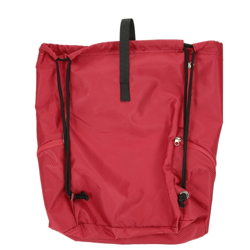 22L Foldable Drawstring Backpack Bag Outdoor Sports Gym Sack Pack Travel Storage Bag Beach BagSports &amp; Outdoor<br>22L Foldable Drawstring Backpack Bag Outdoor Sports Gym Sack Pack Travel Storage Bag Beach Bag<br>