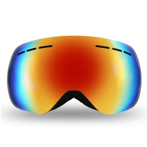 Lixada Frameless Ski Goggles Winter Snow Sports Snowboard Goggles Ventilated Anti-fog UV Protection Spherical Dual Lens for SnowmoSports &amp; Outdoor<br>Lixada Frameless Ski Goggles Winter Snow Sports Snowboard Goggles Ventilated Anti-fog UV Protection Spherical Dual Lens for Snowmo<br>