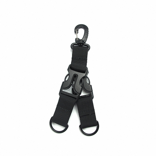 Outdoor Molle Webbing Clips Nylon Ribbon Buckle Multi-Functional Quick Release Buckle D-Type Hanging Ring KeychainSports &amp; Outdoor<br>Outdoor Molle Webbing Clips Nylon Ribbon Buckle Multi-Functional Quick Release Buckle D-Type Hanging Ring Keychain<br>