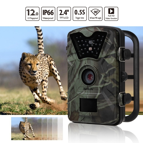 Boblov ct008 12MP 1080P HD Trail &amp; Wildlife CameraSports &amp; Outdoor<br>Boblov ct008 12MP 1080P HD Trail &amp; Wildlife Camera<br>