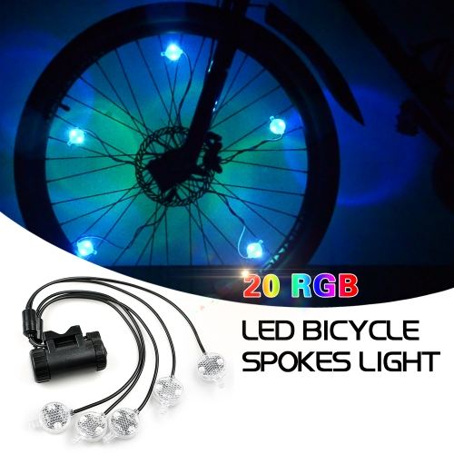 Bike Wheel Light String Ultra Bright LED Bicycle Tire Light Cycling Rim Lights  LED Wheel Spoke Light String Strip LampSports &amp; Outdoor<br>Bike Wheel Light String Ultra Bright LED Bicycle Tire Light Cycling Rim Lights  LED Wheel Spoke Light String Strip Lamp<br>